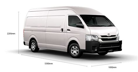 Toyota Hiace Dimensions Automatic Diesel Wheelbase Hiace Toyota