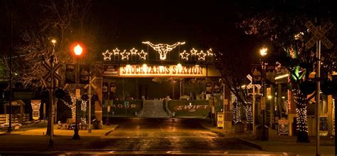 lights in fort worth fort worth stockyards free activities december