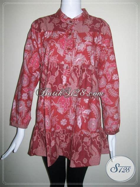 blus batik modern harga dibawah 100 ribu semi tulis