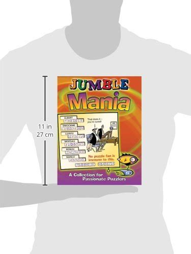 Pdf Jumble Mania Collection Puzzlers by Jumble 174 Mania A Collection For Puzzlers