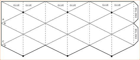 printable flextangle hexaflexagon template resume name