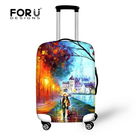 Luggage Cover Elastic 20 18 22 thick elastic luggage protective cover with ziper for 18