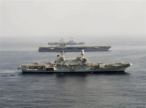 portaerei de gaulle fil carriers cavour 550 harry s truman cvn 75 and
