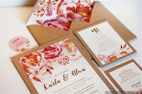 tendencias 2018 invitaciones boda kraft blanco color estudio posidonia invitaciones de boda vintage por qu 233 encantadoras bodas mx