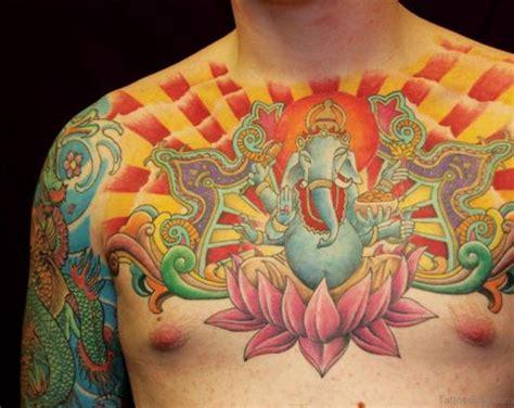 unique chest tattoos 50 beautiful lotus tattoos on chest
