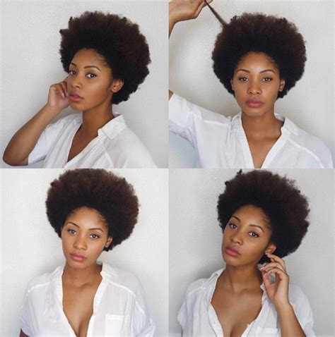 everyday hairstyles for afro hair gorgeous african american natural hairstyles popular