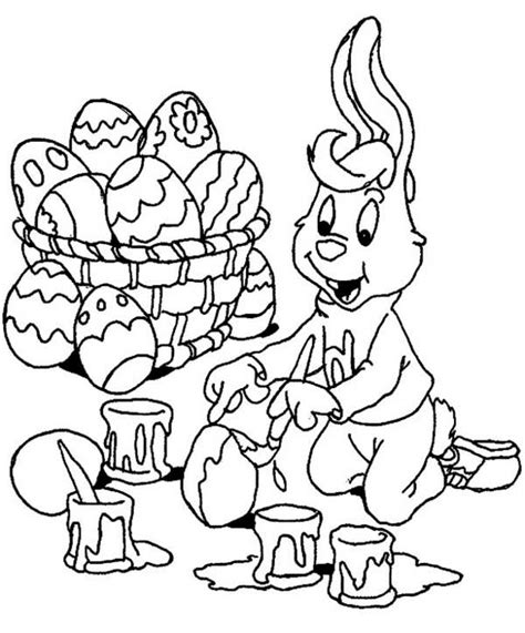 boy easter egg coloring pages bugs bunny coloring pages picture 9 550x711 boy bunny
