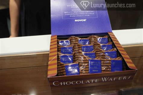 Royce Chocolate Wafer new delhi s finest confections royce luxury japanese chocolates