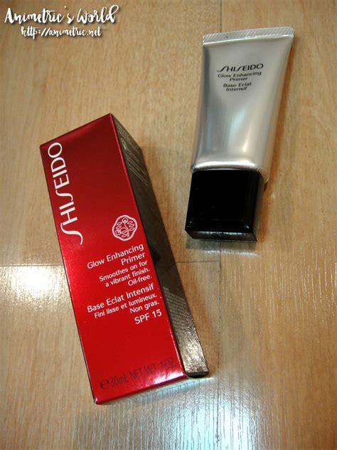 Shiseido Glow Enhancing Primer shiseido glow enhancing primer review animetric s world