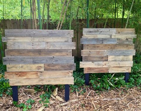 matching twin beds on pinterest twin beds boy rooms and twins for twins raw pallet wood matching twin headboards