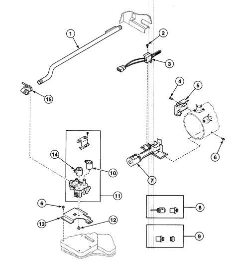 speed dryer parts diagram gas valve diagram parts list for model sdg909wf speed