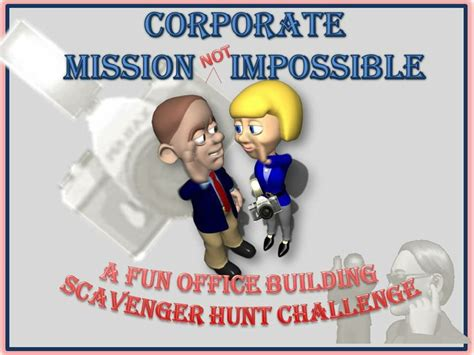corporate mission  impossible  fun office building