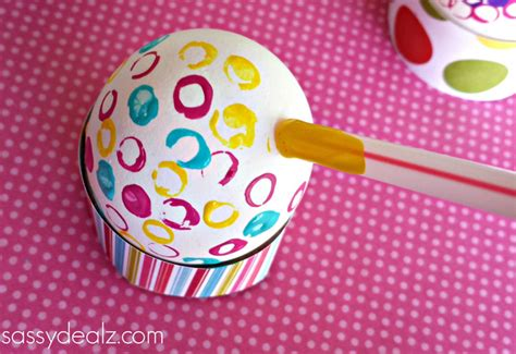 Decorate Easter Eggs with Straws and Paint   Crafty Morning