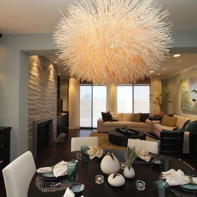 Contemporary Livingrooms Lighting A Kitchen And Dining Room Contemporary Dining