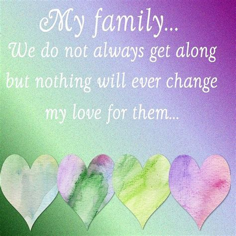 Me And My me and my family dont always get along but nothing wil