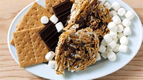 Adler S Baker Smores Brownies 15 X 10 golden grahams s mores roll ups recipe tablespoon