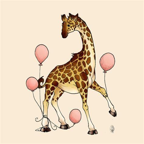 Giraffe Photo Frame Random Color animal balloons 4 tangled giraffe by outtatheblueskye on