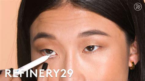 eyeliner tutorial waterline waterline white eyeliner tutorial short cuts