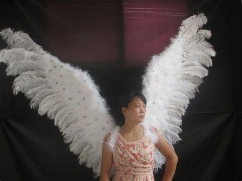 Wings Sayap Peri orang dewasa fashion berkualitas tinggi malaikat bulu