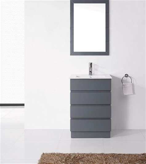 Ultra Modern Bathroom Vanity Trendy Gray Bathroom Vanities For Any Style Bathroom