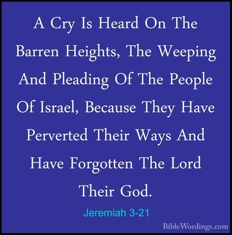 21 people who have a jeremiah 3 holy bible biblewordings
