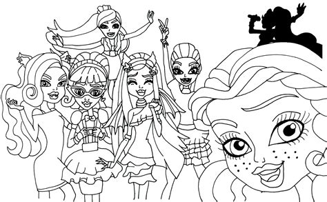 free printable monster high coloring pages march 2014 free printable monster high coloring pages march 2014