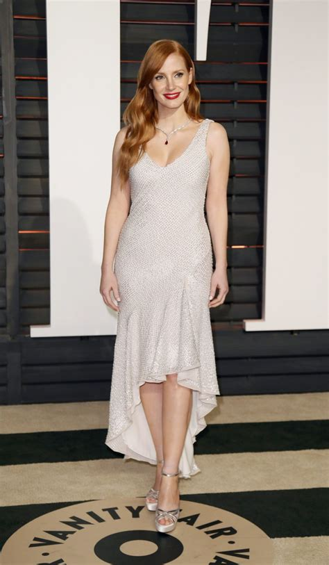 2015 Vanity Fair by Chastain 2015 Vanity Fair Oscar In