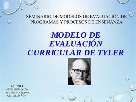 Modelo Curricular Tyleriano Calam 233 O Pp Ralph