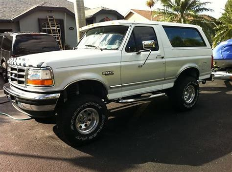 how to work on cars 1996 ford bronco spare parts catalogs buy used 1996 ford bronco 4x4 in hollywood florida united states for us 8 500 00