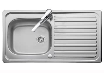 Leisure Linear Single Bowl Sinks ? Stainless Steel Kitchen