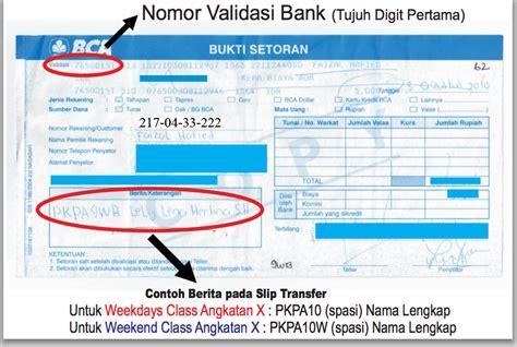 format transfer sms banking bca 187 pkpa pendidikan khusus profesi advokat dpn peradi