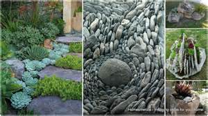 Garden Rock Ideas Simple Modern Xeriscaping Ideas For Your Outdoor Space