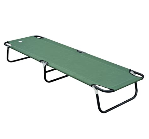 army cot bed outdoor portable army military folding cing bed cot