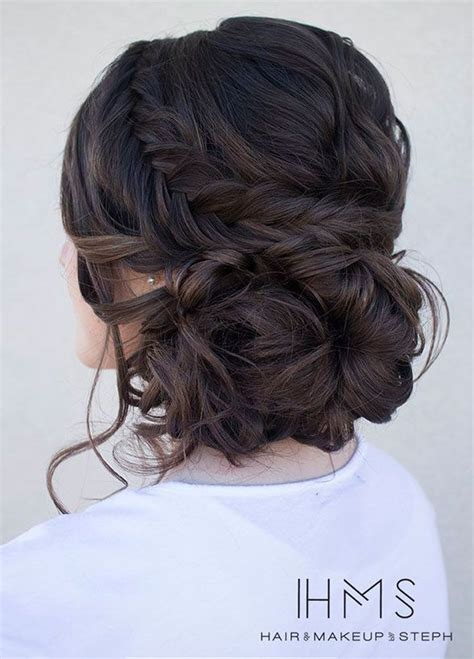 Wedding Hairstyles For Brown Hair by 1000 Ideas About Wedding Hairstyles On