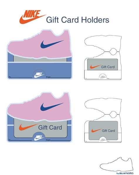 Shoe Gift Cards - jonathan sakamoto s nike projects