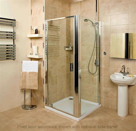 Shower Doors And Enclosures Embrace Pivot Door Shower Enclosure Uk Bathrooms