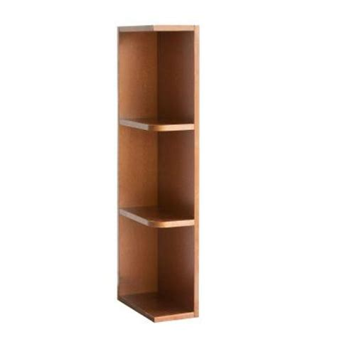 kitchen cabinet end shelf lakewood cabinets 6x42x12 in all wood wall kitchen