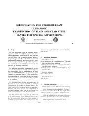 sa-435.pdf - SPECIFICATION FOR STRAIGHT-BEAM ULTRASONIC