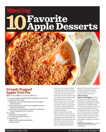 printable pie recipes 17 favorite apple pie recipes midwest living