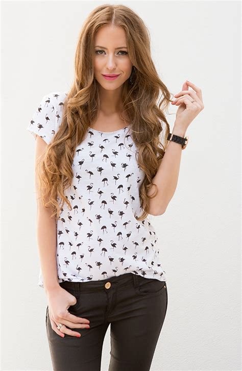 Flaminggo Top by Exclusive Flamingo Top The Musthaves