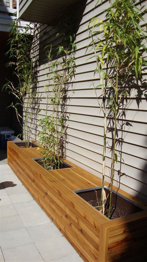 Planter Boxes With Seating by Cedar Planter Box And Bench Seating Flickr Photo