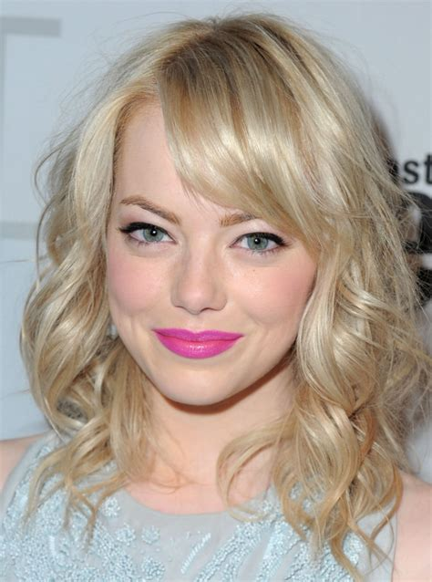 emma stone blonde short blonde hair with lowlights cool hairstyles