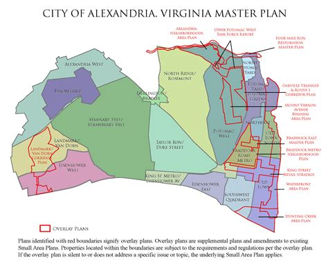 Alexandria Virginia Detox by Alexandria Master Plan Citywide Chapters Planning