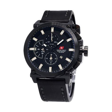 Jam Tangan Pria Swiss Navy 8333mrg jual swiss navy 8935 kulit hitam racing hitam putih jam