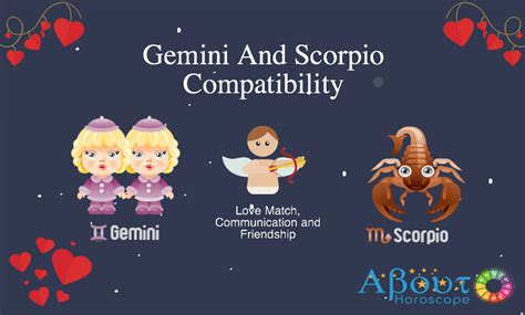 gemini and scorpio compatibility love friendship