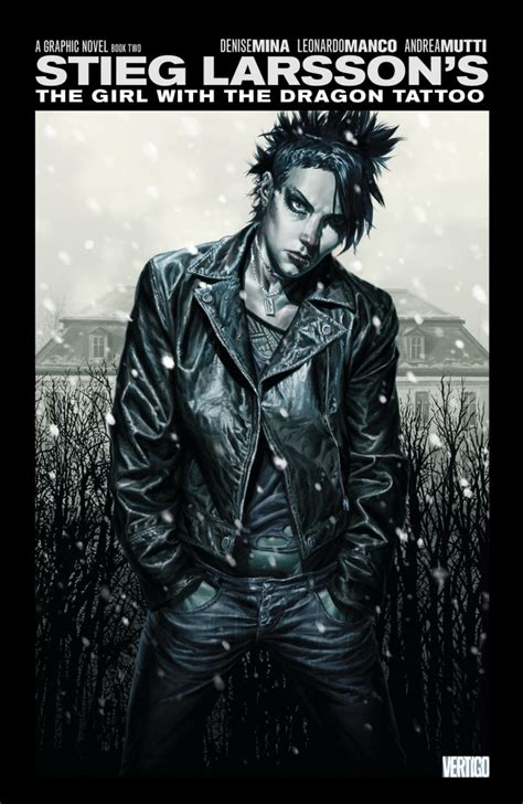 the girl with the dragon tattoo book the with the vol 02 hc