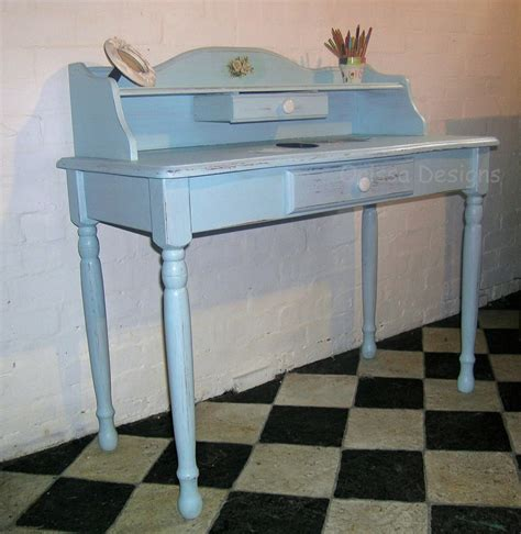 blue writing desk orissa designs