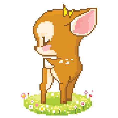 pixel art pattern tumblr deer pixel tumblr
