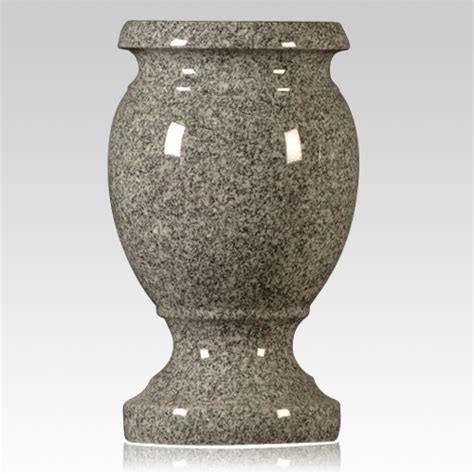 Granite Vases by Oxford Gray Granite Vase