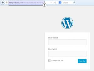 How To Change Template Wordpress by How To Change Admin Folder Name Template